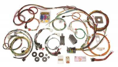 Frame - Chassis Wiring Harness - Painless Wiring - Direct Fit Mustang Chassis Harness (1965-1966)-22 Circuits - 20120