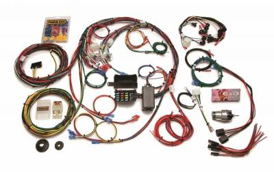 Frame - Chassis Wiring Harness - Painless Wiring - Direct Fit Mustang Chassis Harness (1967-1968)-22 Circuits - 20121