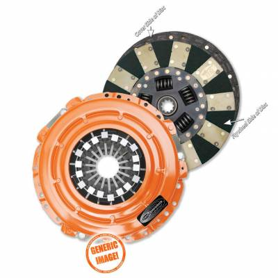 Centerforce - Dual Friction(R), Clutch Pressure Plate and Disc Set - DF161056