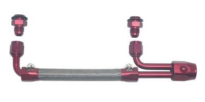 Edelbrock - Dual-Quad Fuel Line Kit - 8088