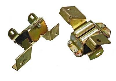 Cylinder Block Components - Engine Mount Set - Energy Suspension - EARLY FORD/MERCURY MOTOR MOUNT SET - 4.1135G