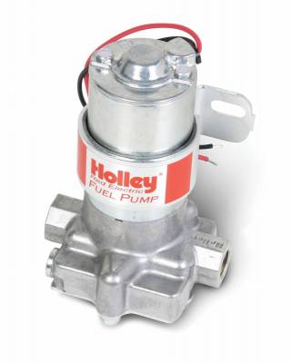 Fuel Pumps and Related Components - Electric Fuel Pump - Holley - ELEC FUEL PUMP 6145-2 RED AUTO - 12-801-1