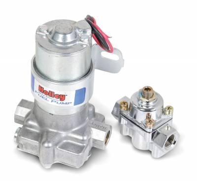 Fuel Pumps and Related Components - Electric Fuel Pump - Holley - ELEC FUEL PUMP 6194-2 BLU AUTO - 12-802-1