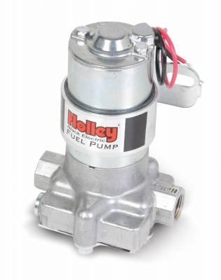 Fuel Pumps and Related Components - Electric Fuel Pump - Holley - ELEC FUEL PUMP BLACK AUTO - 12-815-1