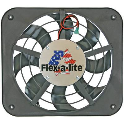Cooling Fan, Clutch and Motor - Engine Cooling Fan - Flex-A-Lite - Electric Fan - 111