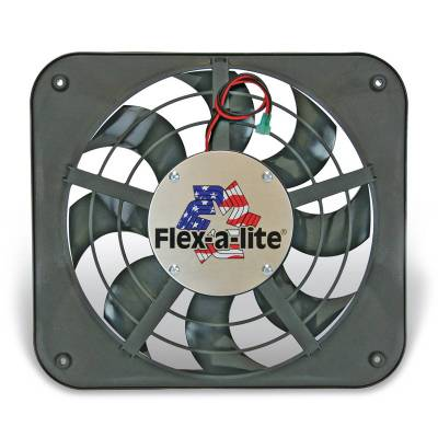 Cooling Fan, Clutch and Motor - Engine Cooling Fan - Flex-A-Lite - Electric Fan - 123