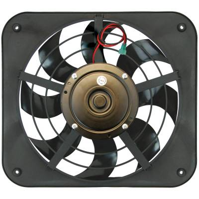 Cooling Fan, Clutch and Motor - Engine Cooling Fan - Flex-A-Lite - Electric Fan - 133