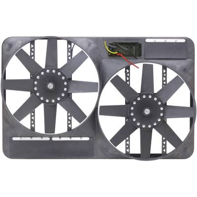 Cooling Fan, Clutch and Motor - Engine Cooling Fan - Flex-A-Lite - Electric Fan - 295