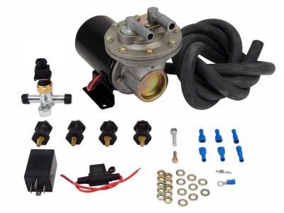 Vacuum System - Engine Vacuum Reservoir - COMP Cams - Electric Vacuum Pump Kit - 5500