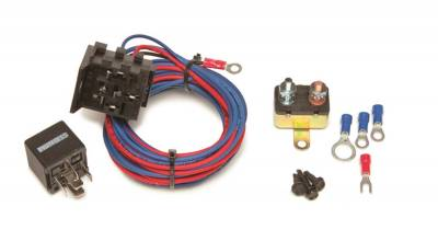 Relays - Engine Water Pump Relay - Painless Wiring - Electric Water Pump Relay Kit - 50106