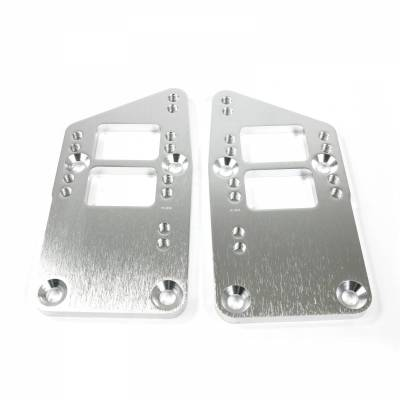 Top Street Performance - Engine Mount Adapter Plate - Aluminum LS to SBC/BBC, Machined - 81100
