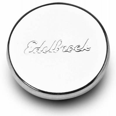 """Cylinder Block Components - Engine Oil Filler Cap - Edelbrock - Engine Oil Filler Cap for 1 1/4"""" hole - 4415"""