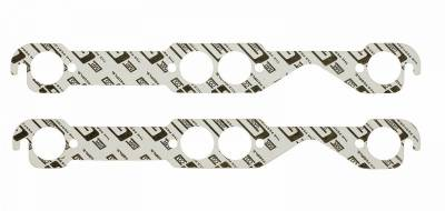 Gaskets and Sealing Systems - Exhaust Manifold Gasket Set - Mr Gasket - EXH GSKT SB CHEV RD PORT - 150B