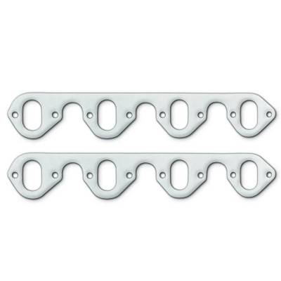 Gaskets and Sealing Systems - Exhaust Header Gasket - Remflex - Exhaust Gasket-FORD V8, 429-460, Oval Port - 3010