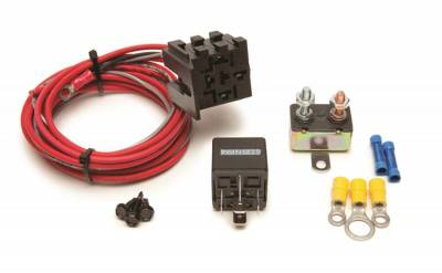 Relays - Engine Cooling Fan Motor Relay - Painless Wiring - Fan-Thom Electric Fan Relay Kit - 30101