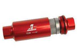 Filters - Fuel Filter - Aeromotive Fuel System - Filter, In-Line (AN-10) 100 micron stainless steel element - 12304