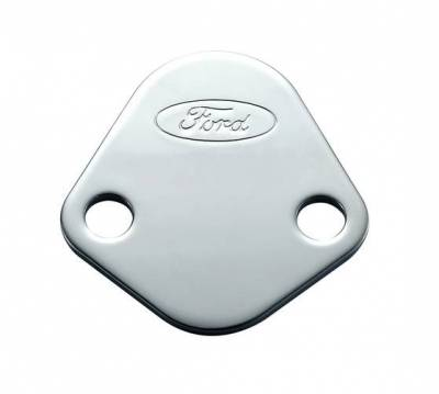 Fuel Pumps and Related Components - Fuel Pump Block-Off Plate - Proform - Fuel Pump Block-Off Plate - Chrome
