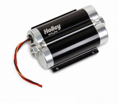 Fuel Pumps and Related Components - Electric Fuel Pump - Holley - FUEL PUMP, DOMINATOR HIGH FLOW ELECTRIC - 12-1800