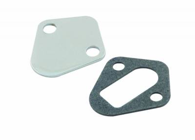 Fuel Pumps and Related Components - Fuel Pump Block-Off Plate - Mr Gasket - FUEL PUMP,BLK OFF BB CHEV - 1516