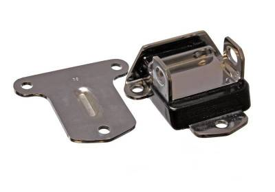 Cylinder Block Components - Engine Mount - Energy Suspension - GM EARLY ENG MNT CHROME PLAT - 3.1115G