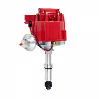 Top Street Performance - HEI Distributor - Buick Small Block V8 (300, 340, 350), Red - JM6524R