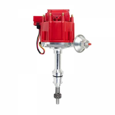 Top Street Performance - HEI Distributor - Ford 351W V8, Red - JM6510R