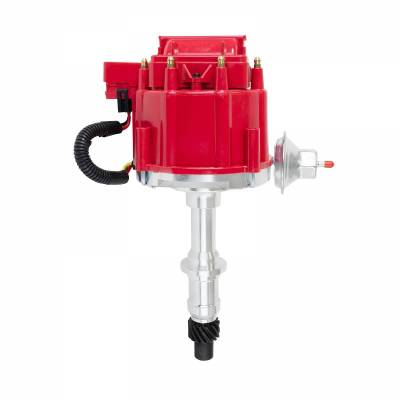 Top Street Performance - HEI Distributor - Pontiac V8 (389, 326, 400, 301, 421, 428, 455), Red - JM6504R