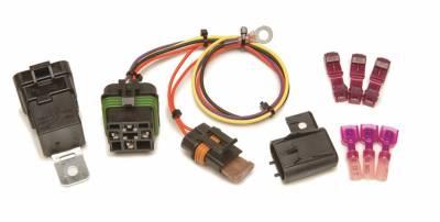 Relays - Headlight Relay - Painless Wiring - High Beam Headlight Relay Kit (1999-2002 GM full-size trucks/SUVs) - 30821
