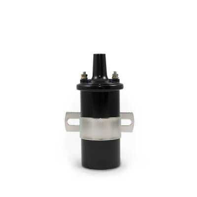 Top Street Performance - Ignition Coil - Oil-Filled Canister Style, Female Socket, Black - JM6927BK