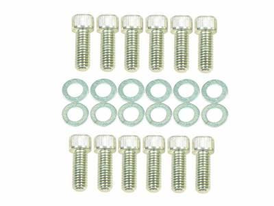 Cylinder Block Components - Engine Intake Manifold Bolt Set - Mr Gasket - INT BOLTS SOCKET HEAD - 956G