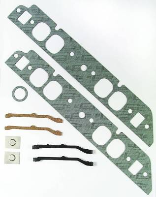 Gaskets and Sealing Systems - Engine Intake Manifold Gasket - Mr Gasket - INT GSKT,BB CHEV OVAL PORT - 107