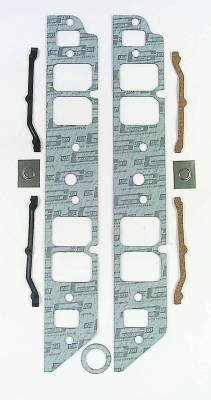 Gaskets and Sealing Systems - Engine Intake Manifold Gasket - Mr Gasket - INT GSKT,BB CHEV RECT PORT - 108