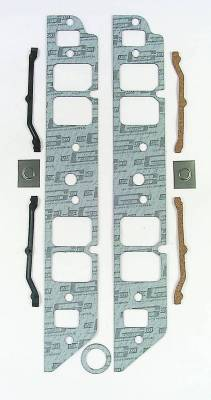 Gaskets and Sealing Systems - Engine Intake Manifold Gasket - Mr Gasket - INT GSKT,BB CHEV RECTANGLE - 110