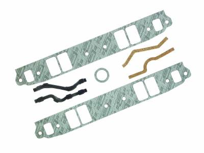 Gaskets and Sealing Systems - Engine Intake Manifold Gasket - Mr Gasket - INT GSKT,SB CHEV MED PORT - 102G