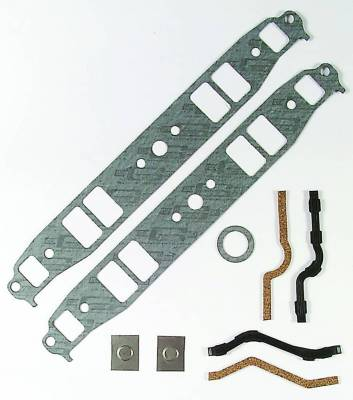 Gaskets and Sealing Systems - Engine Intake Manifold Gasket - Mr Gasket - INT GSKT,SB CHEV SML PORT - 100