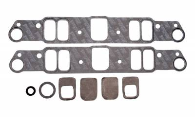 Gaskets and Sealing Systems - Engine Intake Manifold Gasket Set - Edelbrock - Intake Manifold Gasket for 1961-79 3626-389-400-421-428-455 Pontiac - 7280