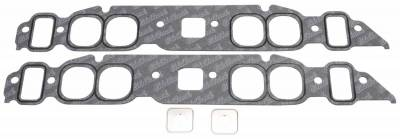 Gaskets and Sealing Systems - Engine Intake Manifold Gasket Set - Edelbrock - Intake Manifold Gasket for 1965-1990, Oval port 396-402-454 B/B Chevy - 7203