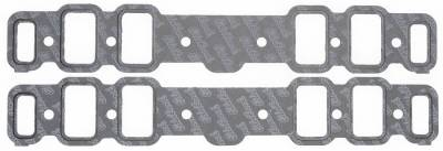 Gaskets and Sealing Systems - Engine Intake Manifold Gasket Set - Edelbrock - Intake Manifold Gasket for 1965-76 400-425-455 Oldsmobile engines - 7284
