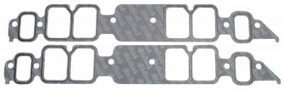 Gaskets and Sealing Systems - Engine Intake Manifold Gasket Set - Edelbrock - Intake Manifold Gasket for 1991 & Later Rectangular port 454 B/B Chevy - 7202