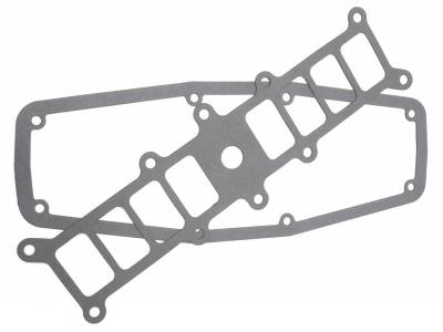 Gaskets and Sealing Systems - Engine Intake Manifold Gasket Set - Edelbrock - Intake Manifold replacement base and plenum cover gaskets - 3832