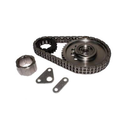 Valve Train Components - Engine Timing Set - COMP Cams - Keyway Adjustable Billet Timing Set for GM LS2 w/ 24X Reluctor - 7102