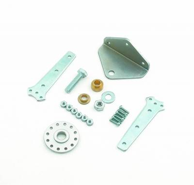 Carburetion - Carburetor Accelerator Linkage Kit - Mr Gasket - KIT,BELL CRANK - W/MOUNTING - 1523