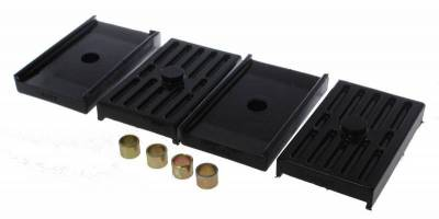 Suspension, Springs and Related Components - Leaf Spring Insulator - Energy Suspension - LEAF SPRING ISOLATORS - 3.6112G