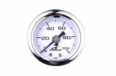 Aeromotive Fuel System - Liquid-Filled Fuel Pressure Gauge - 15633