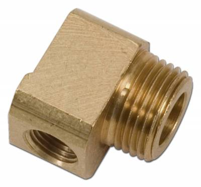 Vacuum System - Vacuum Line Fitting - Edelbrock - Low Profile Vacuum Fitting for Holley Double-Pumper - 8096