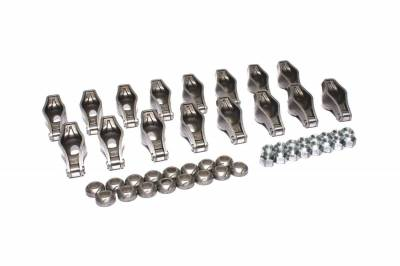 """Service Kits - Engine Rocker Arm Kit - COMP Cams - Magnum Roller Rocker Arm Set w/ 1.6 Ratio for AMC, Ford and Oldsmobile 3/8"""" Stud - 1442-16"""
