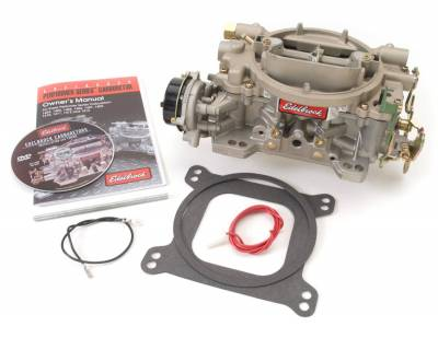 Carburetion - Carburetor - Edelbrock - Marine Series 600 CFM Carburetor with Electric Choke (non-EGR) - 1409