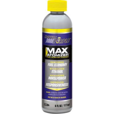 Functional Fluid, Lubricant, Grease (including Additives) - Fuel Injector Cleaner - Royal Purple - Max-Atomizer Fuel Injector Cleaner - 18000