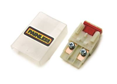 Flasher Units, Fuses, and Circuit Breakers - Fuse Block - Painless Wiring - Maxi Fuse Assembly (includes 70 amp maxi fuse) - 80101