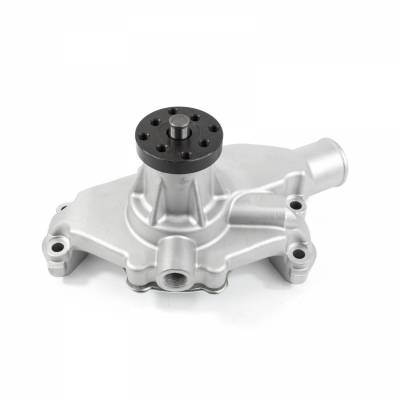 Top Street Performance - Mechanical Water Pump - Aluminum, Satin - Chevrolet Small Block Short Neck - HC8011
